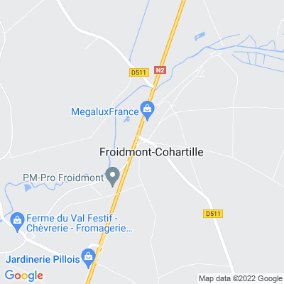 bed and breakfast Froidmont-Cohartille