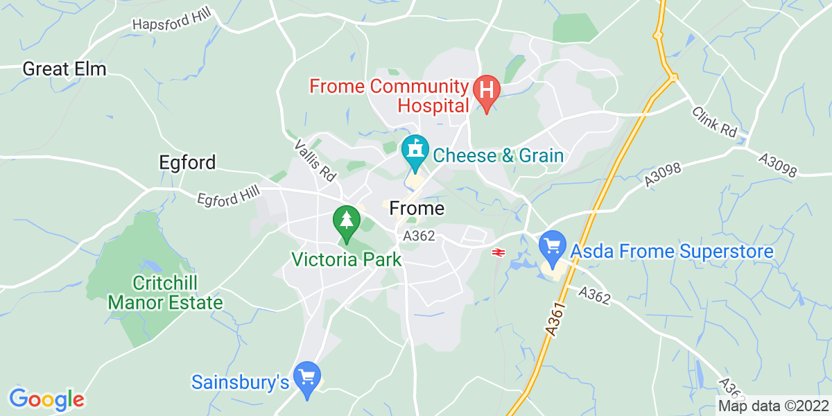Map: Teacher of Autism role in Frome