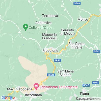 cartina Frosolone
