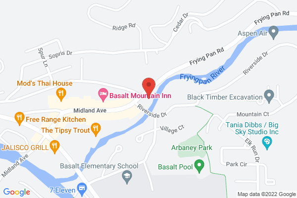 Google map of Basalt, CO