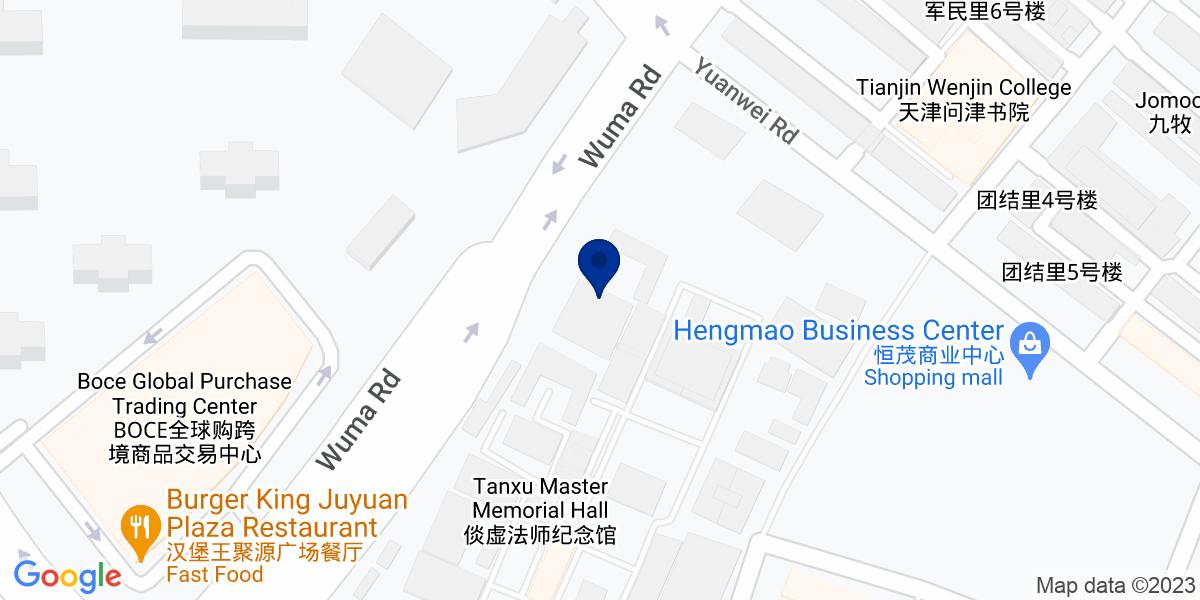 Google Map of Fu Li Zhong Xin, Hexi Qu, Tianjin Shi, Tianjin 300141, China
