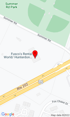 Google Map of Fusco Machinery, INC. 799 RT 202, Flemington , NJ, 08822