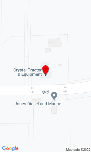 Google Map of Futch's Tractor Depot, Inc. 8515 State Road 207 North, Hastings, FL, 32145