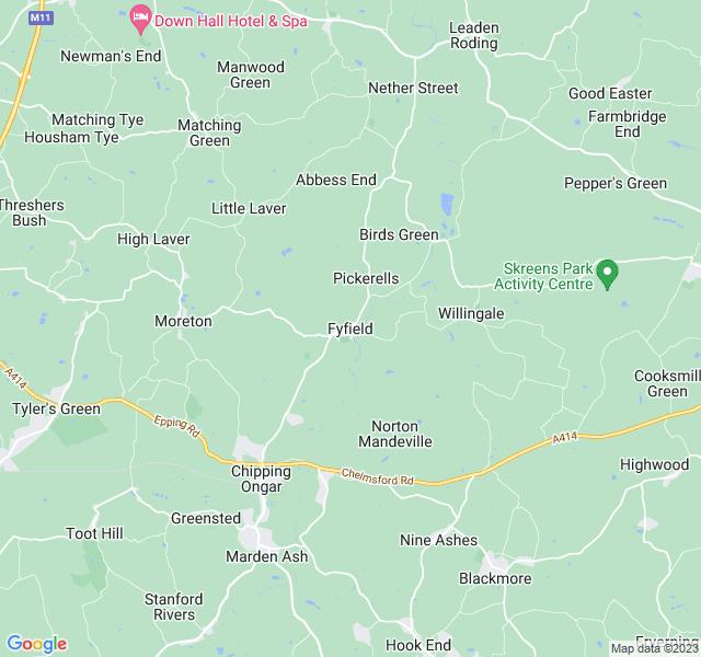 Website Designer Fyfield Google map of location