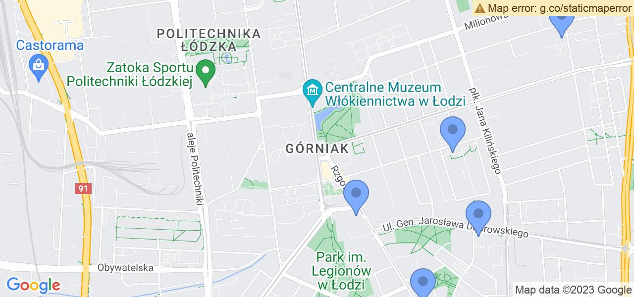 Osiedle Górniak w Łodzi – w tych punktach ekspresowo wyślesz turbinę do autoryzowanego serwisu