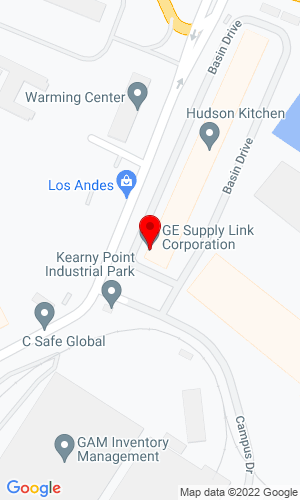 Google Map of G.E. Supply Link Corp. 9 Basin Drive - Ste 100, South Kearny, NJ, 07032