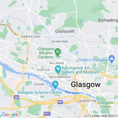 Glasgow Botanic Gardens Location