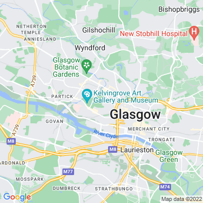 Kelvingrove Park Location