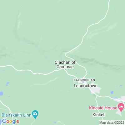 Campsie Glen Location