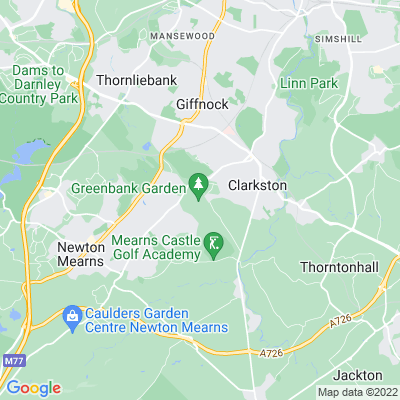 Greenbank Garden Location