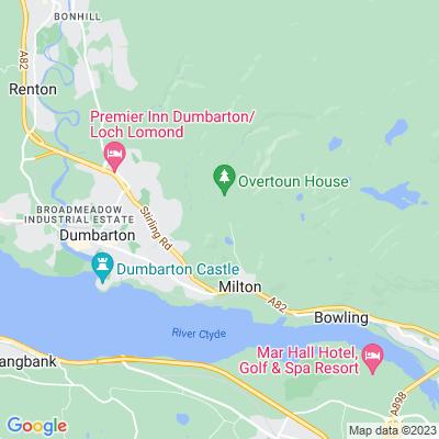 Overtoun House Location