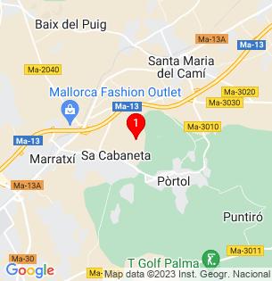 Google Map of GENERAL WEYLER   -P.TESA-, Marratxí, BALEARES, Spain