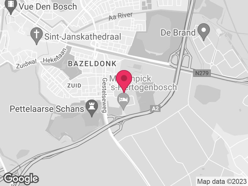 Google Map of GGD Hart voor Brabant Pettelaarpark 10 5216 PD 's-Hertogenbosch