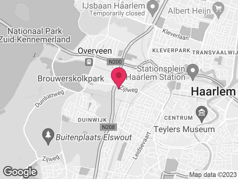 Google Map of GGD Kennemerland / Veiligheidsregio Kennemerland Zijlweg 200 2015 CK Haarlem