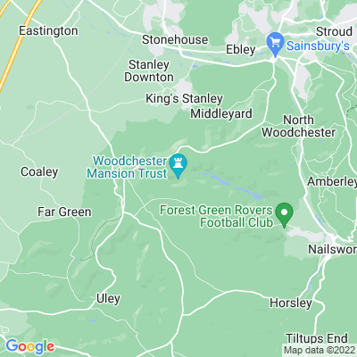 Woodchester Park Location