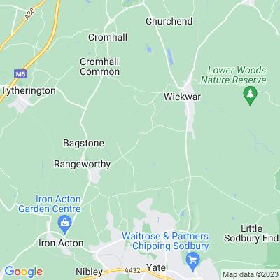 Hall End Farm Location