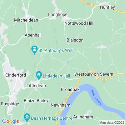 Flaxley Abbey Location
