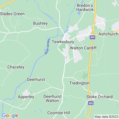 Tewkesbury Park Location