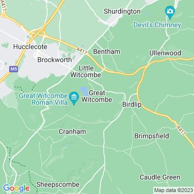 Witcombe Park Location