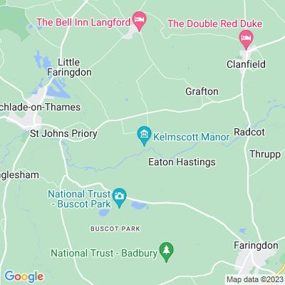 Kelmscott Manor Location