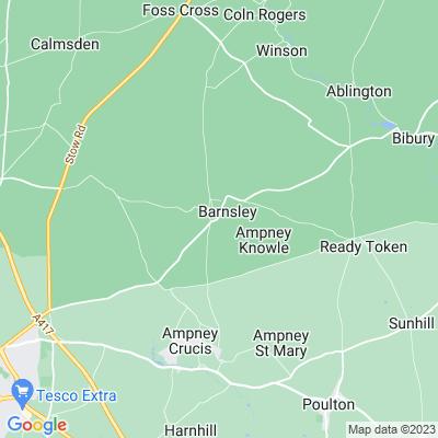 Barnsley Park Location