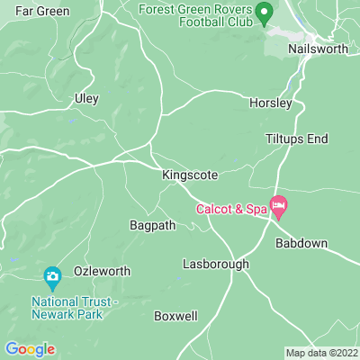 Kingscote Park Location