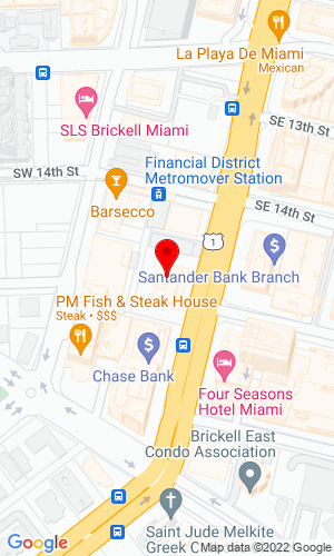 Google Map of GLF Construction Corporation 528 NW 7th Ave, Miami, FL, 33136