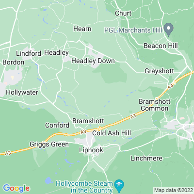 Ludshott Manor Location