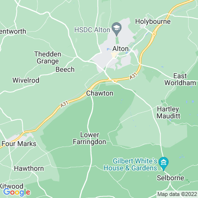Chawton House Location