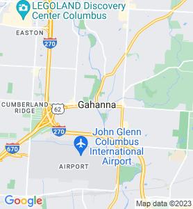 Gahanna OH Map