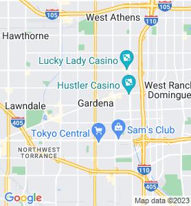 Gardena CA Map