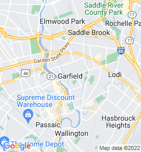 Garfield NJ Map