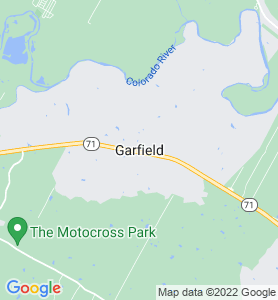 Garfield TX Map