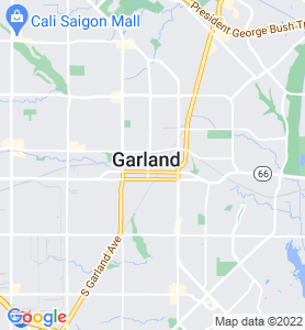 Garland TX Map