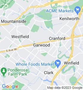 Garwood NJ Map