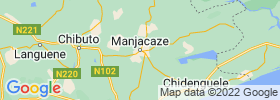 Manjacaze map