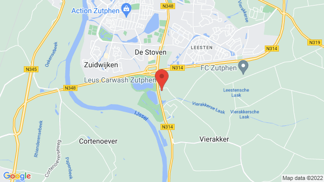 Zutphen op Google Maps