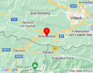 Google Map of Gemeindeplatz 4,9601 Arnoldstein,Österreich