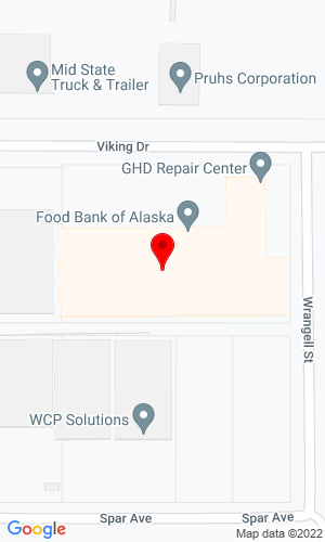 Google Map of General Hardware Distributors 2192 Viking Drive , Anchorage, AK, 99501,