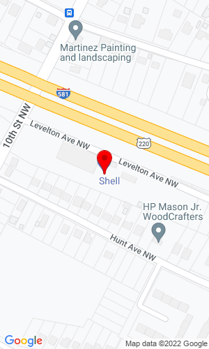 Google Map of General Truck Body 631 Liberty Road, Roaoke, VA, 24012