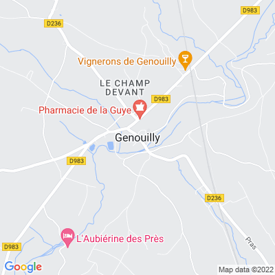 bed and breakfast Genouilly