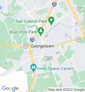 Georgetown TX Map