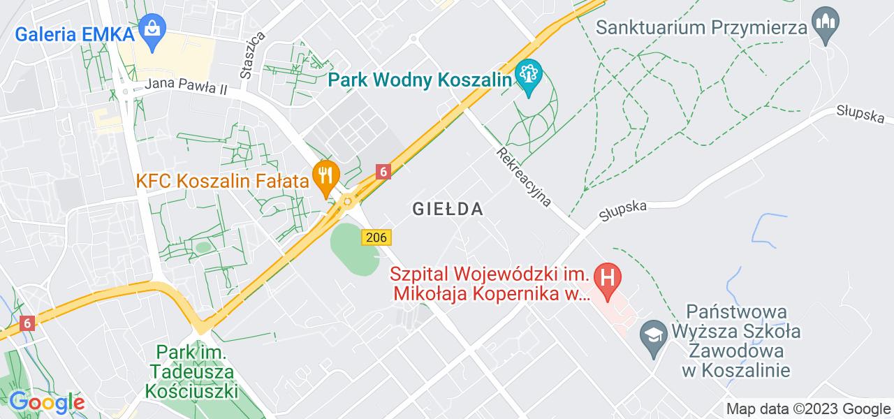 Osiedle Giełda w Koszalinie – w tych punktach ekspresowo wyślesz turbinę do autoryzowanego serwisu