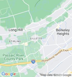 Gillette NJ Map