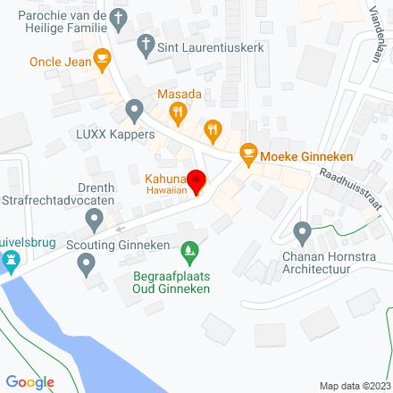 Google Map of Ginnekenmarkt 12 4835 JC Breda