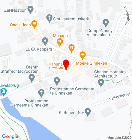 Google Map of Ginnekenmarkt 12 4835 JC Breda