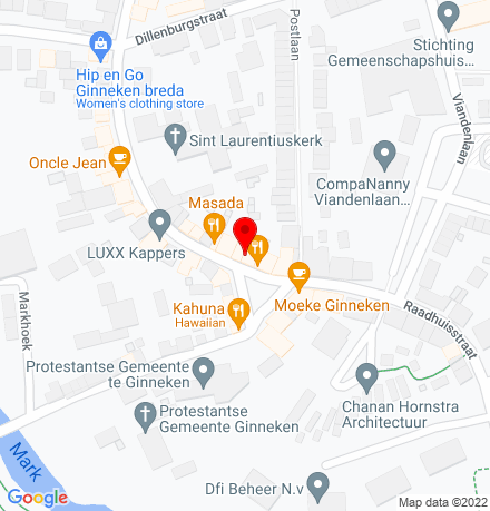 Google Map of Ginnekenmarkt 6 4835 JC Breda