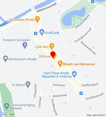 Google Map of Ginnekenweg 24 4818 JE Breda