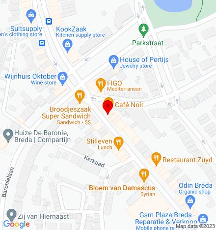 Google Map of Ginnekenweg 3 4818 JA Breda