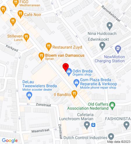 Google Map of Ginnekenweg 59 4818 JB Breda